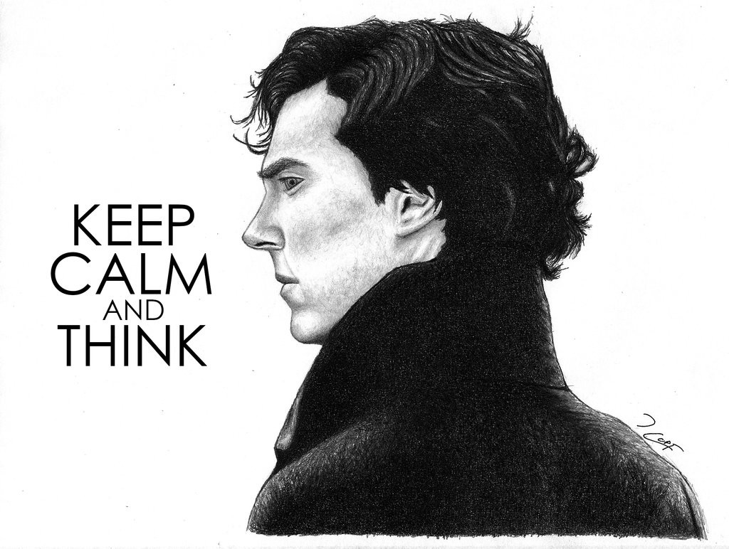 Sherlock - Keep Calm and Think